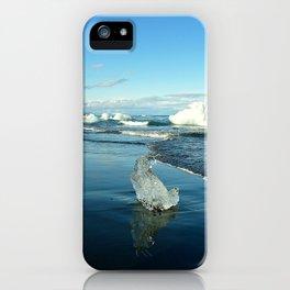 Jokulsarlon Beach II, Iceland iPhone Case