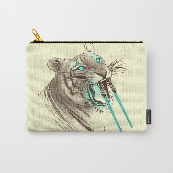 Saber-toothed Tiger Carry-All Pouch