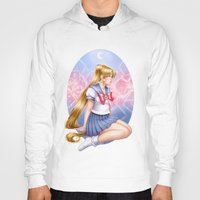 sailormoon Hoodies featuring Sailor moon by Roots-Love