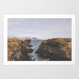 Pathway to the Sea Art Print