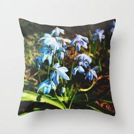just a lovely flowers Throw Pillow