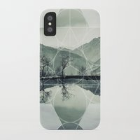sacred geometry iPhone & iPod Cases featuring Sacred by Jemma Pope