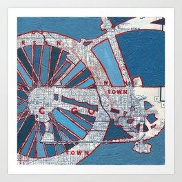 Bike Chicago - Grant Park Art Print