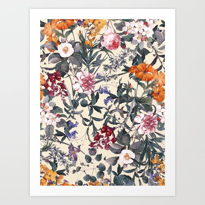 Romantic Garden XI Art Print