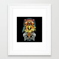 samus Framed Art Prints featuring Samus by Brandon C. Bader