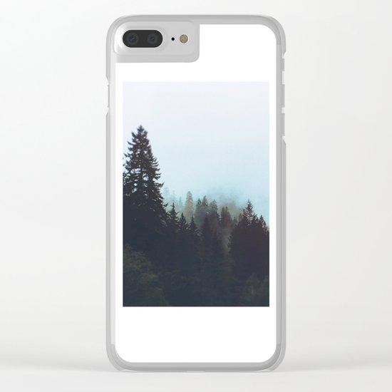 Washington Woodlands Clear iPhone Case