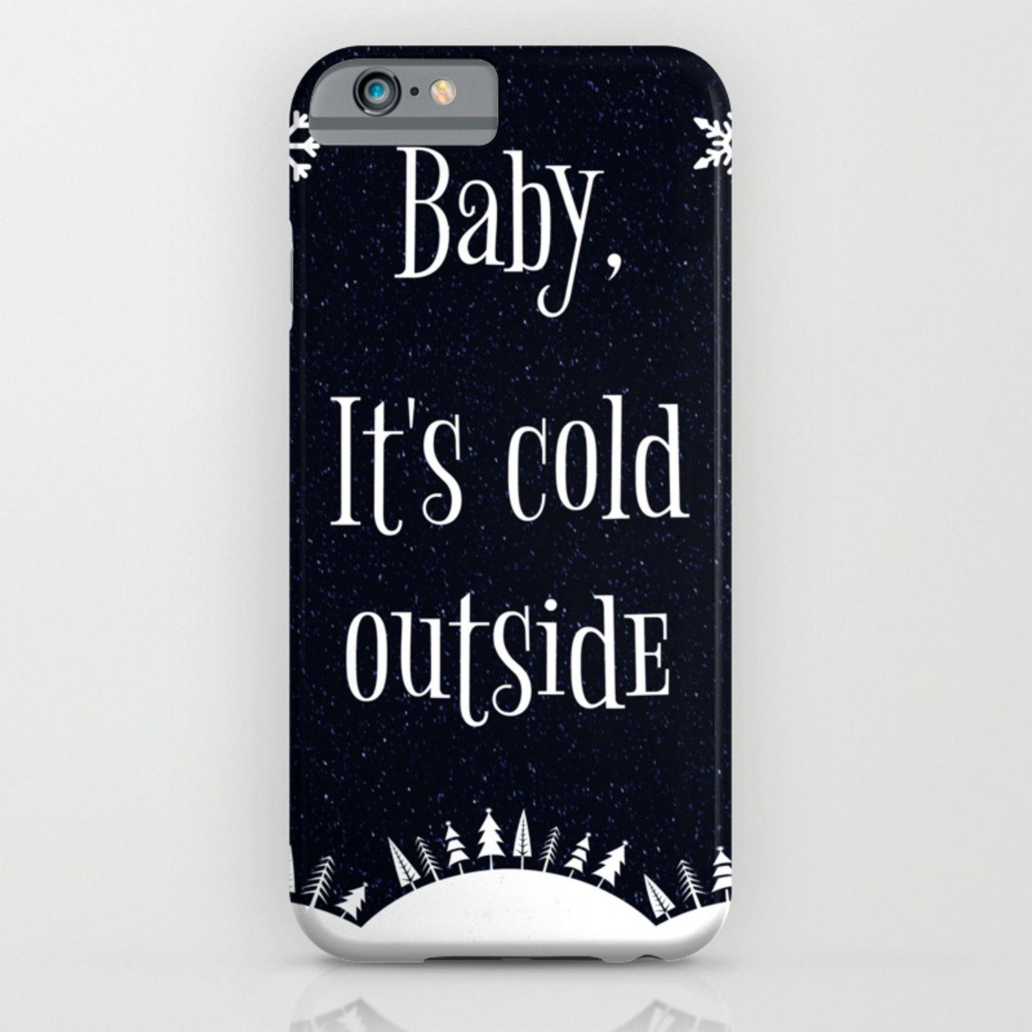 new product 8b0f0 f6445 Baby, It's Cold Outside iPhone Case