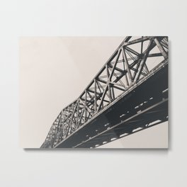 Bailey Bridge, Cincinnati OH Metal Print