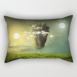 The Sun, The Moon, The Empire All Above Me Rectangular Pillow