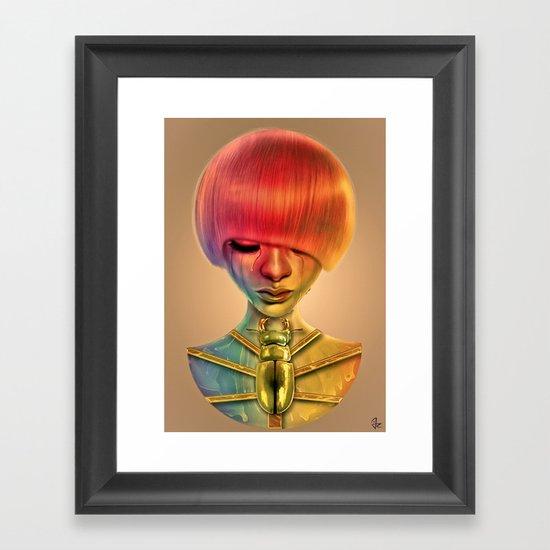 The Gold Bug Framed Art Print