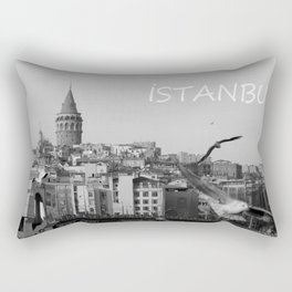 Galata Tower Rectangular Pillow