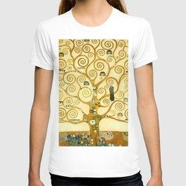 "Gustav Klimt ""Tree of life"" T-shirt"