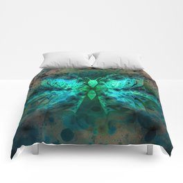 Butterfly Abstract G541 Comforters