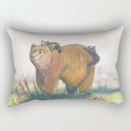 Bear Family Rectangular Pillow