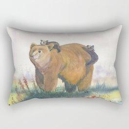 Bear Family Rectangular Pillow