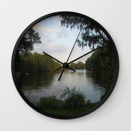 Lake Scene Wall Clock