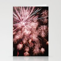 fireworks Stationery Cards featuring Fireworks by For the easily distracted...