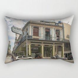 Nice lookin' street corner in La Havana, Cuba Rectangular Pillow