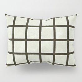 Grid Lines Pillow Sham