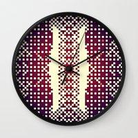 metropolis Wall Clocks featuring METROpolis by KUTOUT.crew
