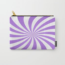 Lavender twirl pattern Carry-All Pouch