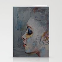 ballerina Stationery Cards featuring Ballerina by Michael Creese