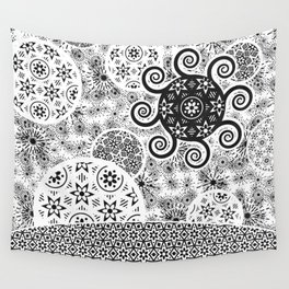 Celestial_Flora_01b Wall Tapestry