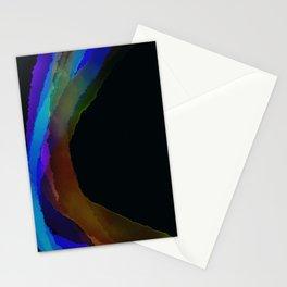 Black Rainbow Stationery Cards