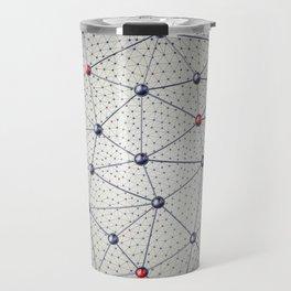 Cryptocurrency network Travel Mug