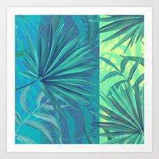 soft tropic Art Print