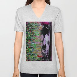 Deconstruct The Conditioned You, Reconstruct The Real You Unisex V-Neck