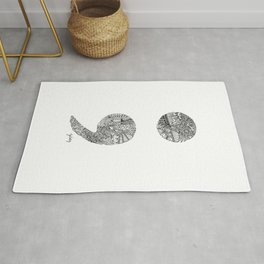 Patterned Semicolon #2 Rug