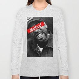 METHOD MAN WU TANG DESIGN Long Sleeve T-shirt