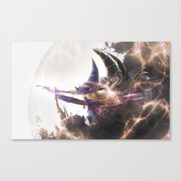 Dark Magician cosplay duo Canvas Print