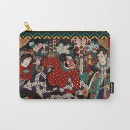 Kabuki Samurai Warriors Carry-All Pouch