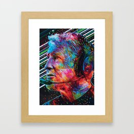 Pete Carroll Framed Art Print