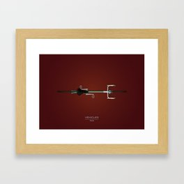 Vehicles / 1948 Framed Art Print