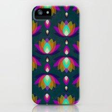 Variations on a Lotus II - Jewel on Green Slim Case iPhone (5, 5s)