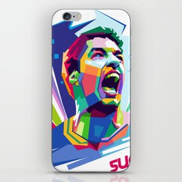 Luis Suarez Wold Cup 2018 Edition iPhone Skin