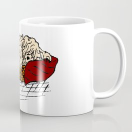Sleepie Pup Coffee Mug