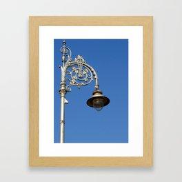 Dublin Lamp Post Framed Art Print
