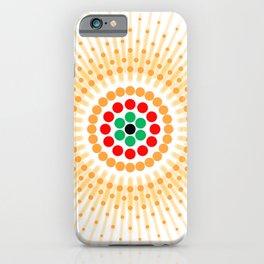 Starry Sun iPhone Case