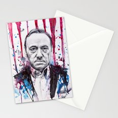Frank Underwood - House of Cards Stationery Cards