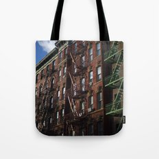 City life Tote Bag
