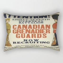 Vintage poster - Canadian Grenadier Guards Rectangular Pillow