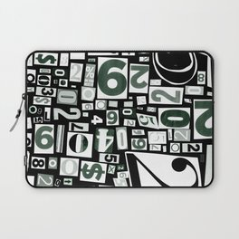 Numbers by Friztin Laptop Sleeve
