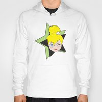 tinker bell Hoodies featuring I Am Smart - Tinker Bell by AmadeuxArt