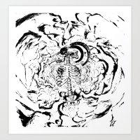 Murk Art Print