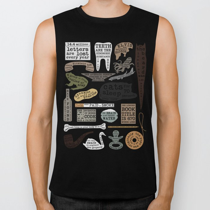 22 Facts - Useful Facts Biker Tank