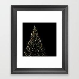 Edinburgh Christmas Tree  Framed Art Print